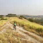 Challenge Ruwenzori Mountain-Bike Solidario una de las rutas en bici