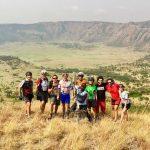 Challenge Ruwenzori Mountain-Bike Solidario foto de grupo