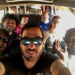 Challenge Ruwenzori Mountain-Bike Solidario selfie de grupo
